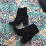 Black booties from Topshop is being swapped online for free