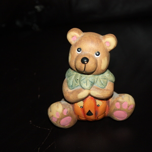Fall Bear figure is being swapped online for free