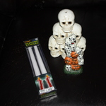 Bleeding Candles $5.00 New in box, never used is being swapped online for free