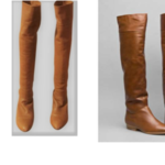 Buttery soft leather tall boots by pour la victoire is being swapped online for free