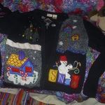 Christmas sweater x large very nice is being swapped online for free