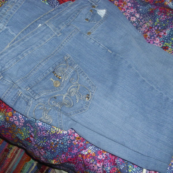 Ann Klein blue jeans size 14 great condition is being swapped online for free
