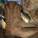 Ariat cowgirl boots in size 7.5 (Style #15725) is being swapped online for free