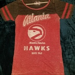 Women's Atlanta team fan shirts..Falcons & Hawk is being swapped online for free
