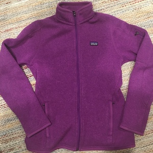 Patagonia Better Sweater purple size small is being swapped online for free