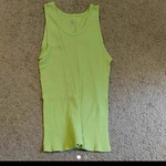 Lime Green Ribbed Tank Top is being swapped online for free