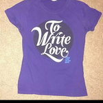 Purple TWLOHA TShirt is being swapped online for free