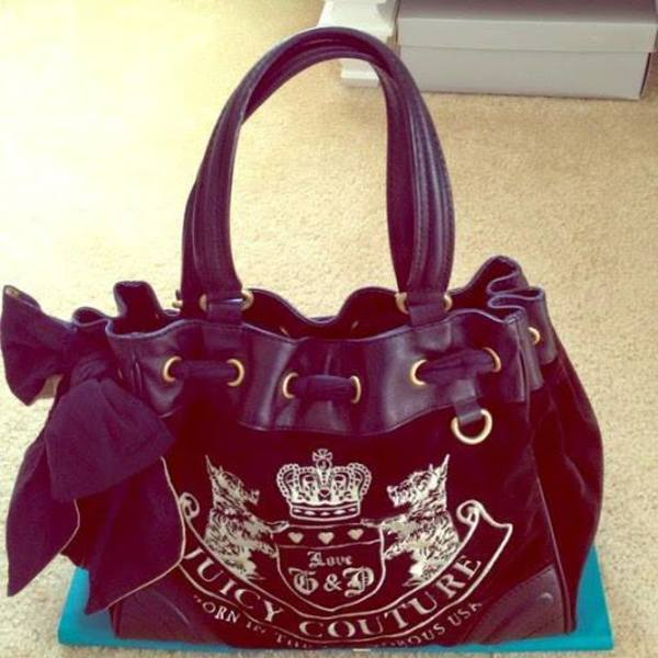 Beautiful Juicy Couture Authentic Purse is being swapped online for free