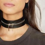 Awesome Faux Leathe Chocker Necklace !! is being swapped online for free
