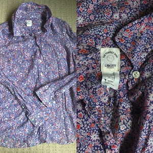 JCrew Perfect Shirt in Liberty of London  is being swapped online for free