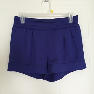 Royal Blue Silky Shorts  is being swapped online for free