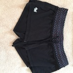 Polka dotted sleep shorts with dog embroidery is being swapped online for free