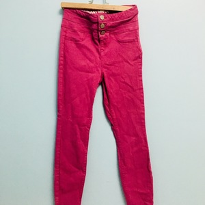 Bethany Mota Pink High waisted Jeans is being swapped online for free