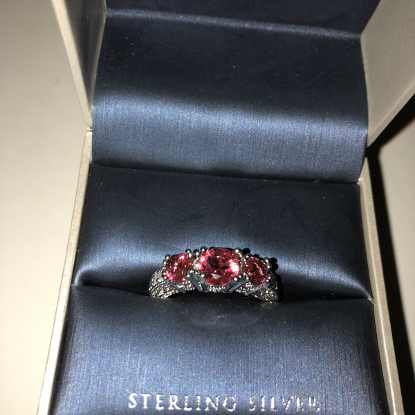 Sterling Silver & Garnet Ring is being swapped online for free