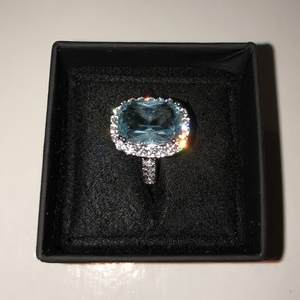 Topaz and Sterling Ring is being swapped online for free