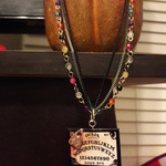 Mini Ouija board beaded necklace is being swapped online for free