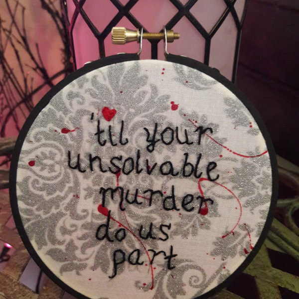 Valentines funny embroidery is being swapped online for free
