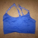 pending under aroumer sports bra  is being swapped online for free