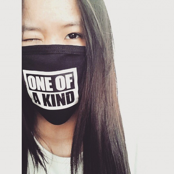 Very Cute !!! Face Mask for when we are sick ( Brand new of course ) saying on it says '' One Of a Kind '' is being swapped online for free