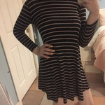 American Eagle Striped Dress is being swapped online for free