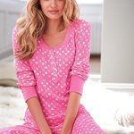 victoria's secret pink thermal pajamas size small is being swapped online for free