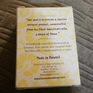 Kona Natural Soap is being swapped online for free