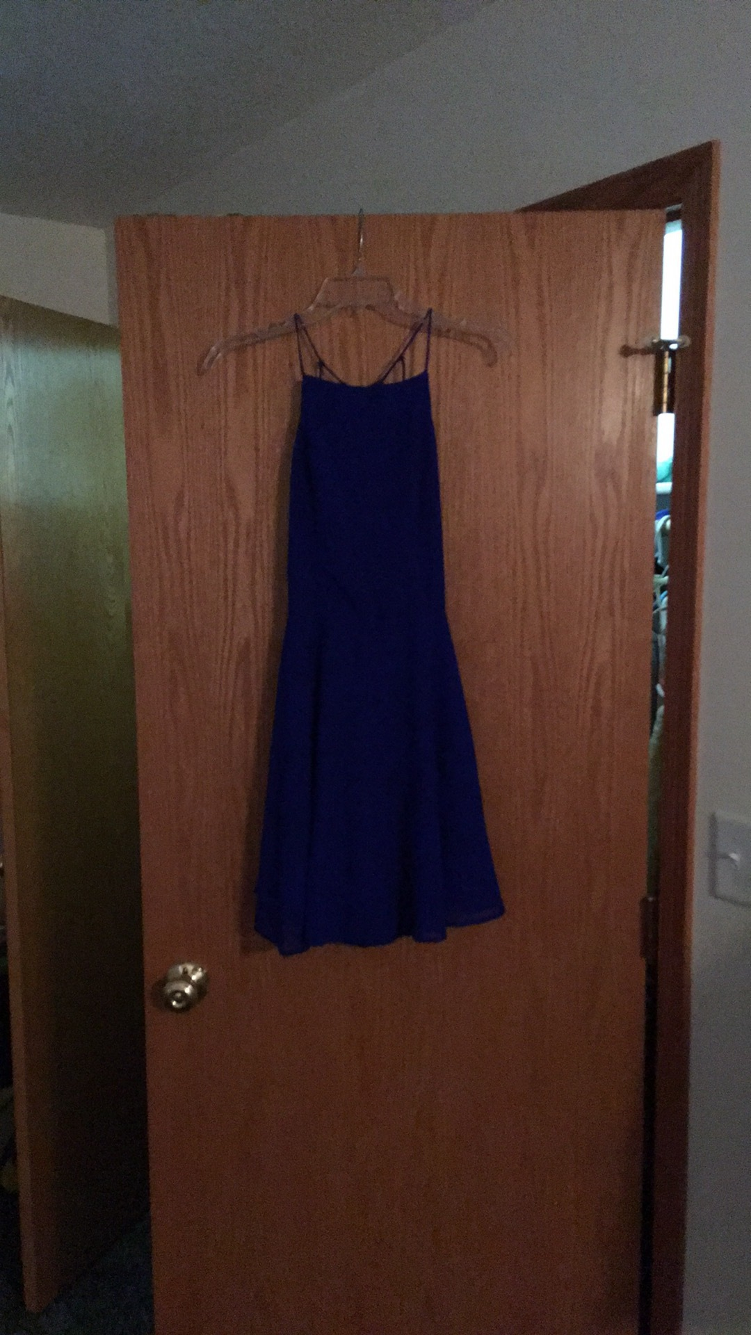 Royal blue homecoming/prom dress Available for Free Online Swapping