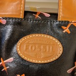 Very Cool Fossil Bag, Great Condition, No Pen Marks.  is being swapped online for free