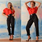 Rocky Mountain vintage high waisted black jeans size 4-6 is being swapped online for free