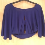 Blue New Look Shrug Crop Top is being swapped online for free