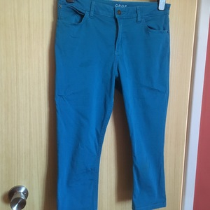 Bright Blue Cropped Jeans M&S UK 12 is being swapped online for free