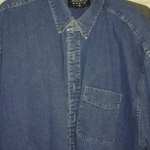 Eddie Bauer denim shirt  is being swapped online for free