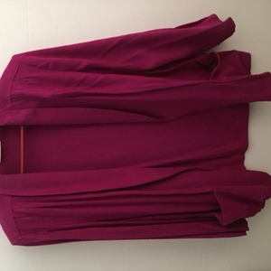 Fushia Rough Silk Jacket is being swapped online for free