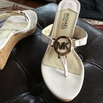 Michael Kors White sandals is being swapped online for free