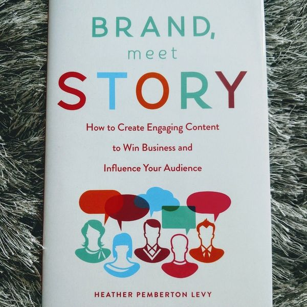 Brand, Meet Story by Heather Levy Pemberton Hardcover - New is being swapped online for free