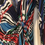 Gorgeous multicolor wrap blouse size XL is being swapped online for free