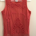 Embroidered Pink Lace Sleeveless Top is being swapped online for free