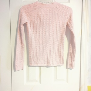 Pink cardigan is being swapped online for free