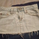 Evis low rise mini skirt, REALgood condition. is being swapped online for free