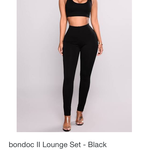 Bondoc ii SET + Gray leggings is being swapped online for free
