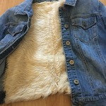 Nordstrom BP Denim Fur Jacket  is being swapped online for free