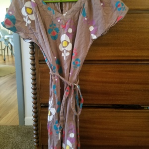 Cute hippie boho dress with flowers is being swapped online for free