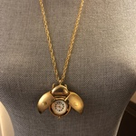 Lady Bug Locket Necklace with Clock is being swapped online for free