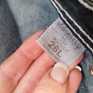 Women's jeans is being swapped online for free