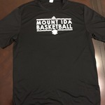 Mount Ida College Basketball T-Shirt ~ Adidas is being swapped online for free