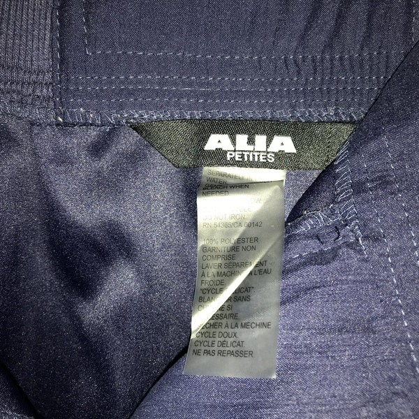 Alia petite 16w  Navy blue long dress pants  is being swapped online for free