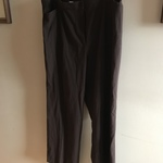 Haggar petite 18w Long brown dress pants   is being swapped online for free