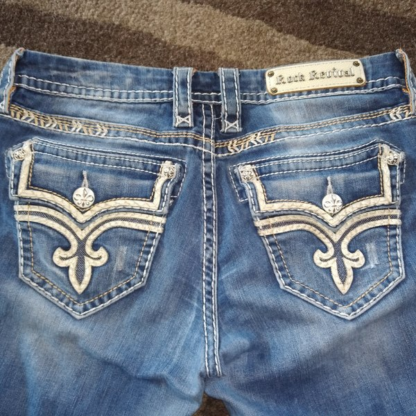 Rock revival jeans is being swapped online for free