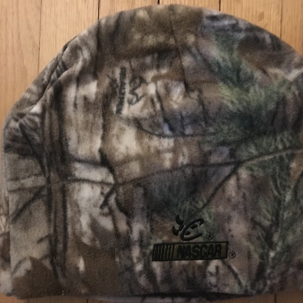 NASCAR Realtree toque Woodland is being swapped online for free