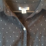 Polka-dot cotton casual shirt is being swapped online for free